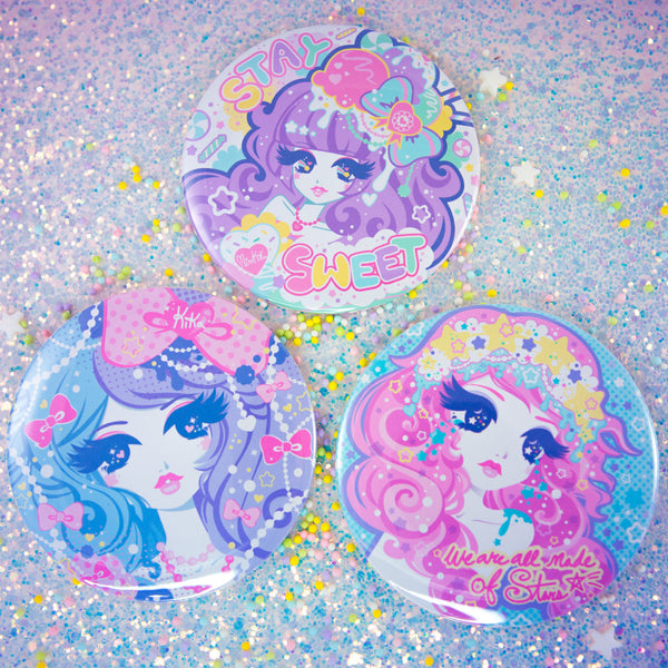 "3"" Beauty Buttons"