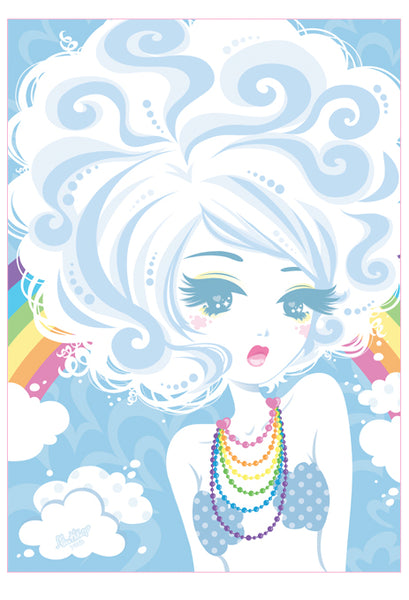 Sparkle poster- Cloudy Baby