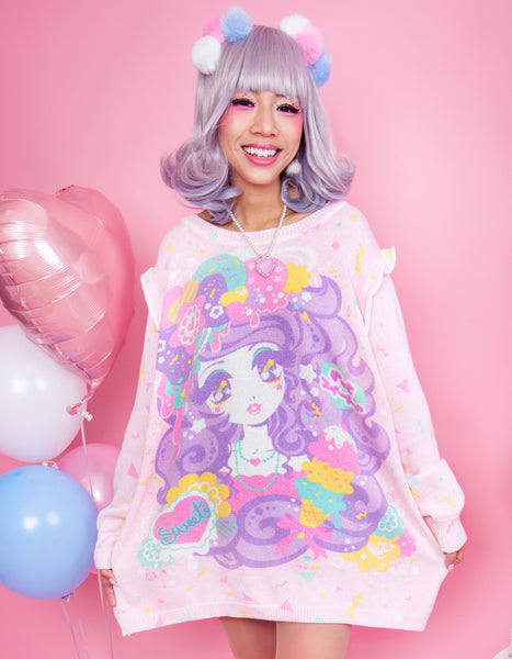 Candy Party- Sparkle Sweater
