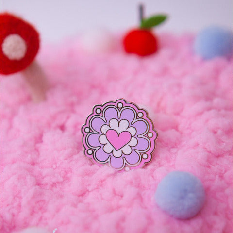 Fancy Flair- Miss Kika Candy Logo Pin