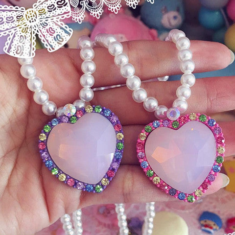 Miss Magical Necklace~ Dark Heart