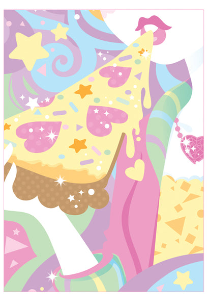 Sparkle poster- Pretty Pizza Party
