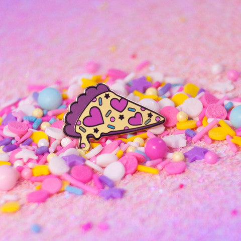 Fancy Flair- Pretty Pizza Pin