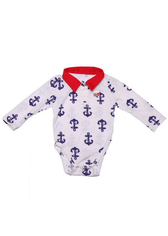 Anchors Away Onesie