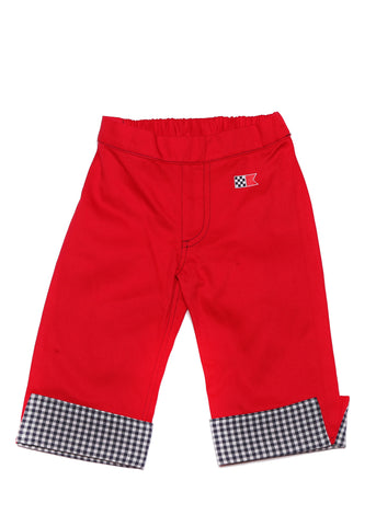 Pier Pant Red