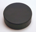 Pucks - Black non-marking 6oz