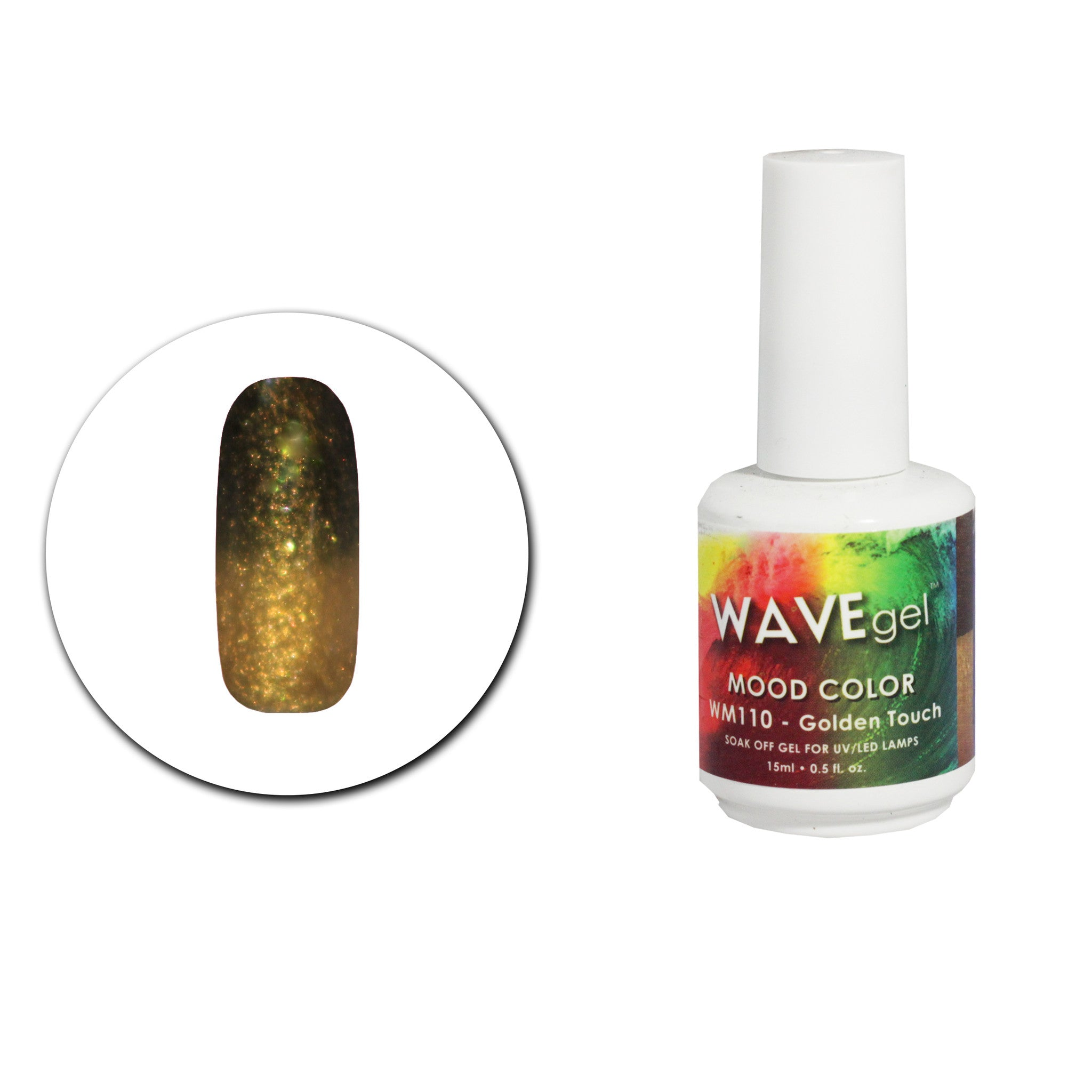 Wave Gel Mood Change Wm110 Golden Touch Rush Hour Beauty Supply