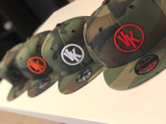 VK New Era Camo Snap Back
