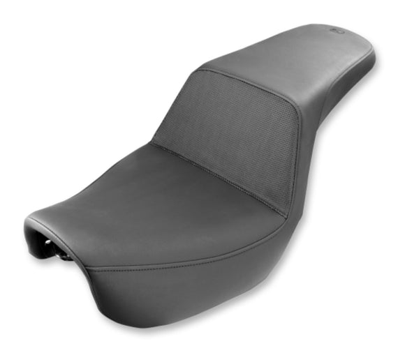 Saddlemen Step Up Seat - Black Gripper