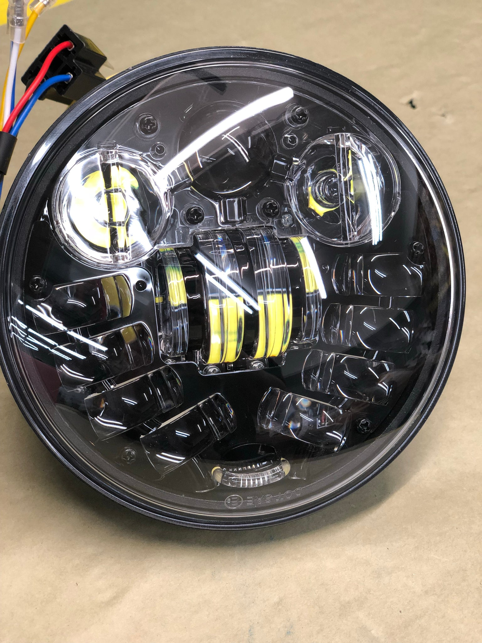 575 Led Headlight With Turn Signals Valley Kustoms