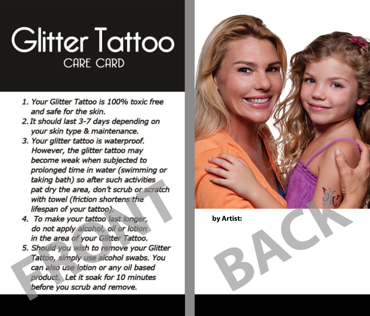 Glitter tattoo store coupons