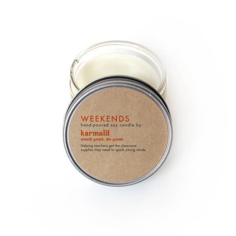Karmalit Weekends 4 oz Candle