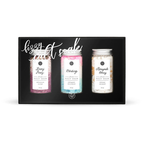Fizzy Salt Soak Sampler Set