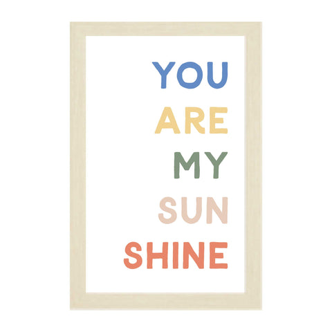 "You Are My Sunshine Sign: 24""x32"""