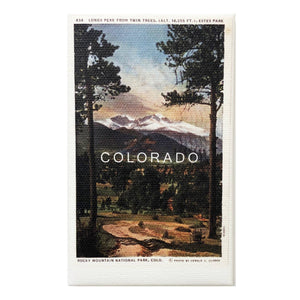 Colorado Vintage Canvas Magnet