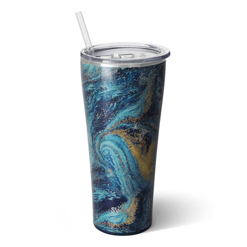 Starry Night | 32 oz Luxury Tumbler w/ Straw - Aspen Lane