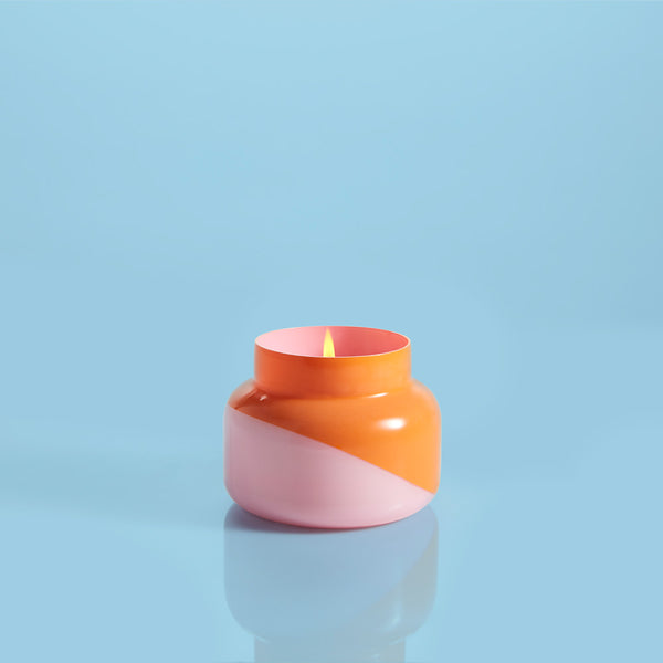 Dual Tone Volcano Candle