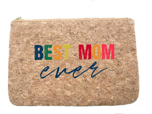 Best Mom Ever cork bag