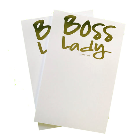 Boss Lady Notepad | Set of 2 - Aspen Lane