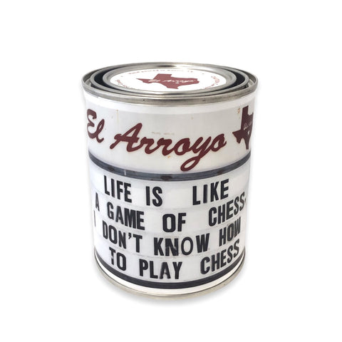 Life is Like Chess Candle | 14 oz