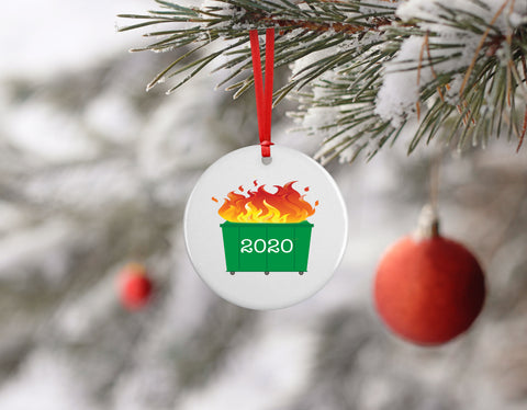 Dumpster Fire 2020 | Ornament - Aspen Lane