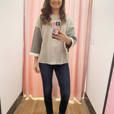 Dot Transitional Sweater