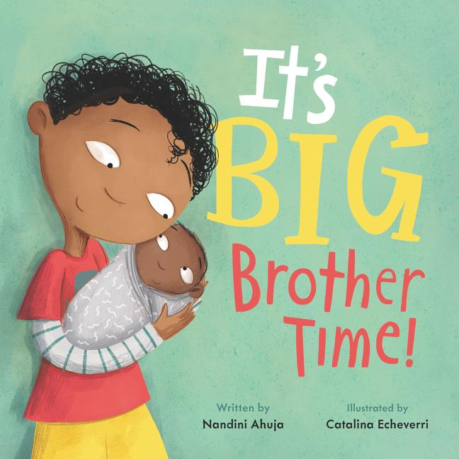It's Big Brother Time Book