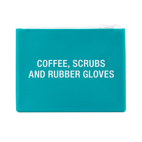 Coffee Scrubs Makeup Bag