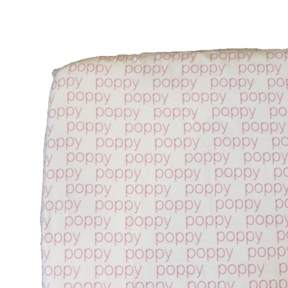 Personalized Crib Sheet (Fitted-Choose from 10 designs) - Aspen Lane