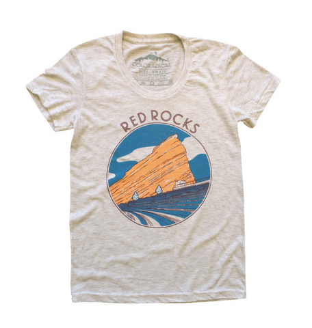 Red Rocks Shirt | Women's Slim Fit - Aspen Lane