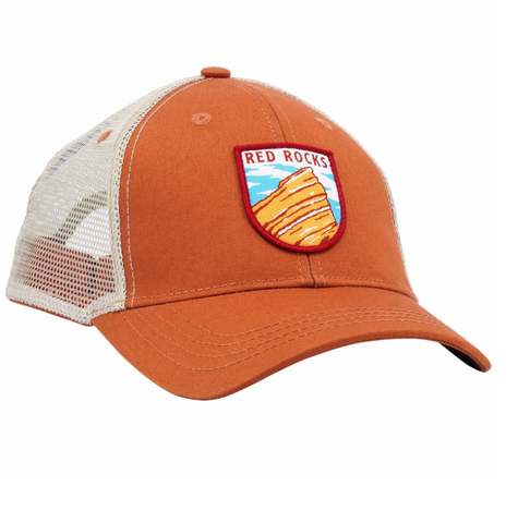 Red Rocks Trucker Hat - Aspen Lane