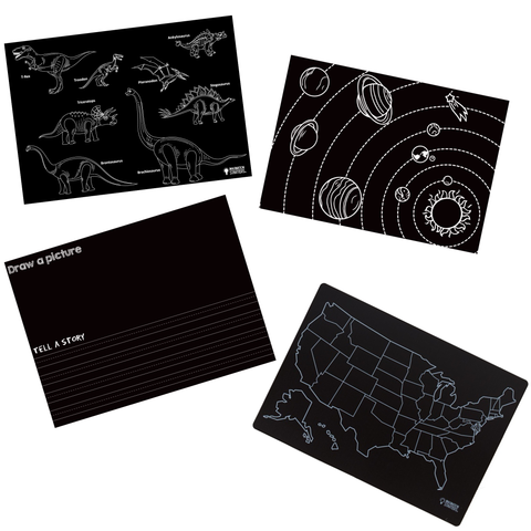 Chalkboard Fun & Learning 2.0: Set of 4