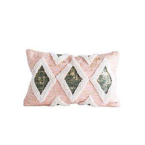 Blush & Gold Pillow