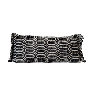 B&W pillow abstract