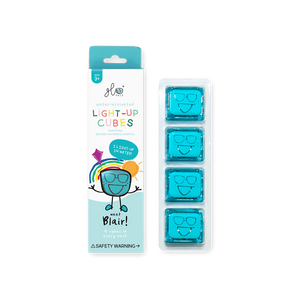 GLO Pal Set of 4 Cubes (Blue)