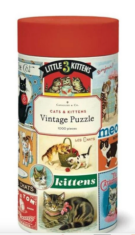 Cats & Kittens 1,000 Piece Puzzle