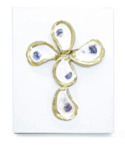 Cross Oyster Wall Decor