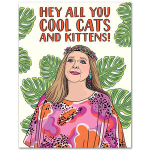 Hey All You Cool Cats & Kittens Card