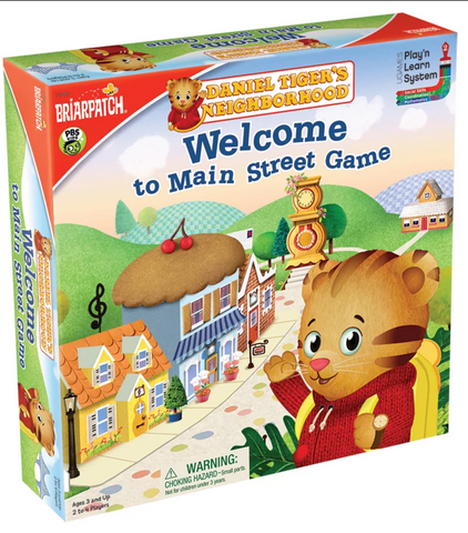 Daniel Tiger Welcome to Main StreetNeighborhood Game