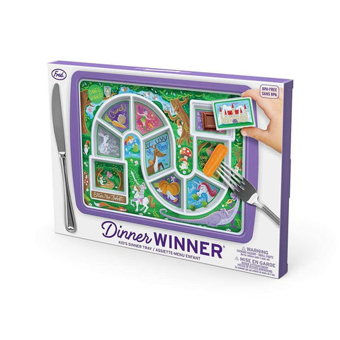 Kids Dinner Winner Plate | 2 choices