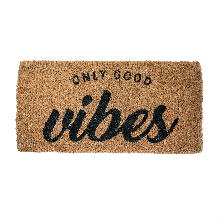 Only Good Vibes Door Mat