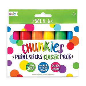 Chunkies Paint Sticks: Set of 6