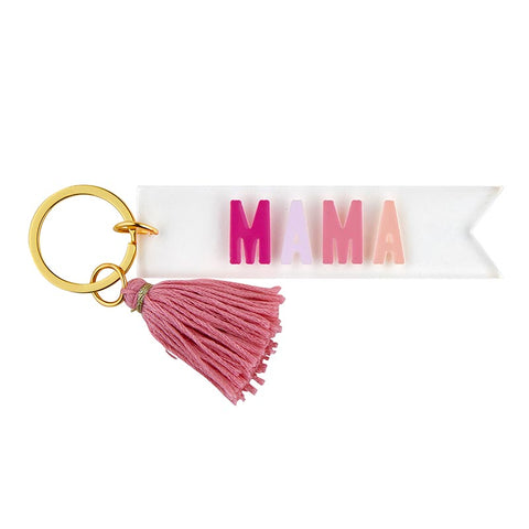 MAMA Colorblock acrylic key chain