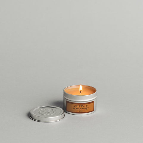 Moroccan Fig Travel Tin Candle