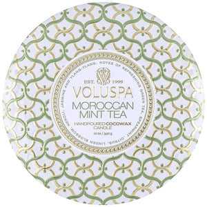 Moroccan Mint 3-Wick Tin Candle