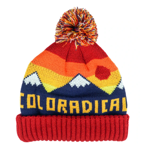 Mountain Pom Beanie - Aspen Lane