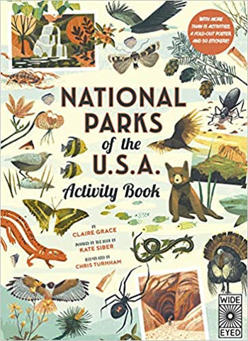 National Parks of the US Activity Book