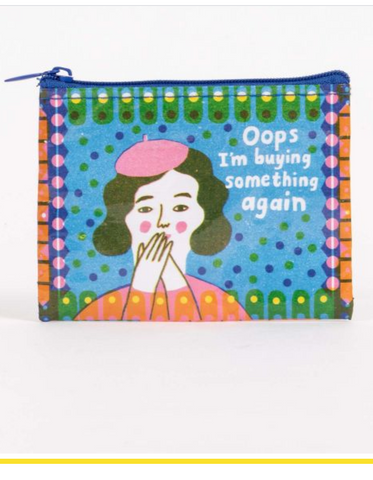Oops Buying Something Coin Purse