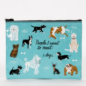 People to Meet: Dogs Zipper Pouch