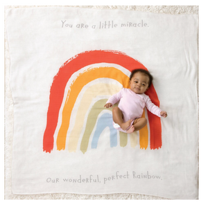Rainbow Photo Swaddle